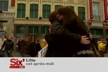 Calins gratuits - séance de Lille