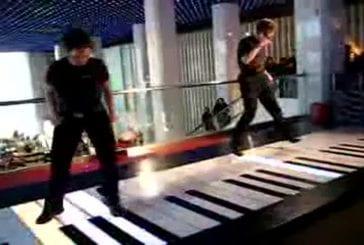 Piano à pieds