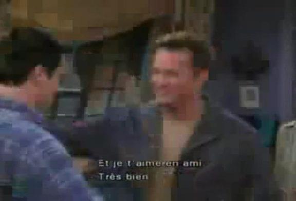 Bétisier de la série Friends