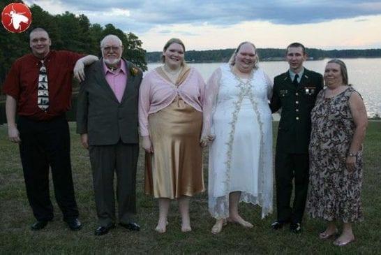 Les grands parents de la mariée