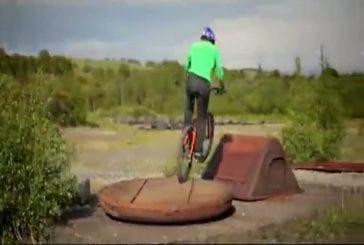Industrial revolution ou l'art du trial en vélo !