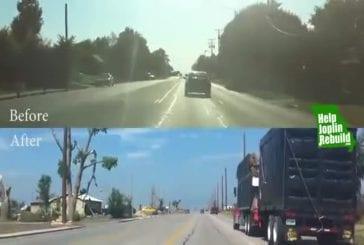Un avant-après le passage d'une tornade au Etats-Unis !