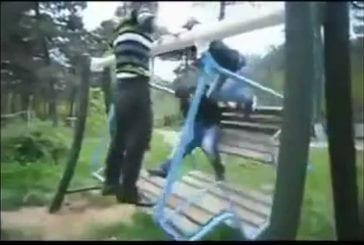 Les sauts ne sont pas toujours gracieux et joliement effectués !