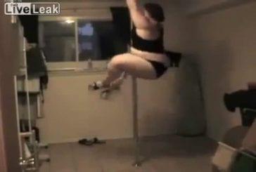 Le pole dance comme vous ne l'avez jamais vu , en XXl !