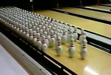 Il est plutôt facile de réaliser un strike avec 200 quilles !