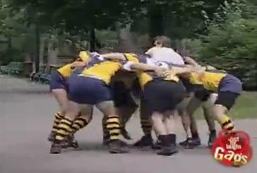 Video Gag - match de rugby