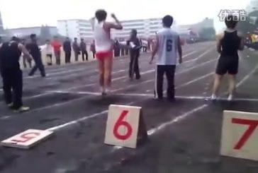 Un faux départ assez étrange lors d'un 100 mètres amateur !