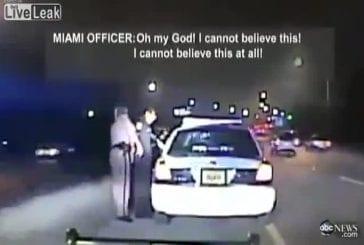 Une policière arrête une autre voiture de police pour exces de vitesse !!!