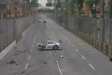Un accident impressionnat lors d'une course GT à Macao !