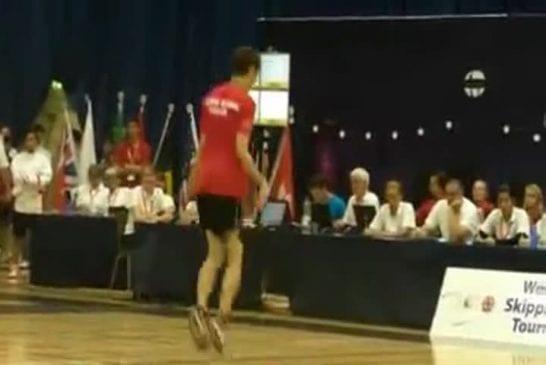 On peut même devenir champion du monde en faisant de la corde à sauter !