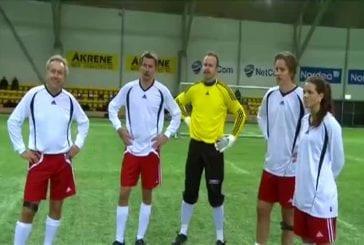 Des joueurs de football reçoivent des chocs quand ceux-ci jouent mal !