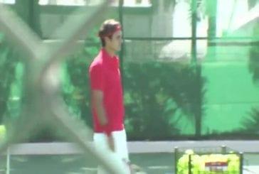 La précision d'enfer de Roger Federer !