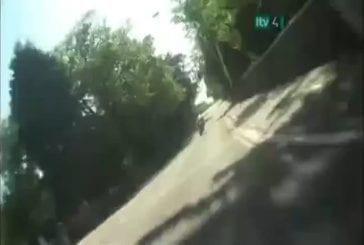 Une course de moto hors du commun !