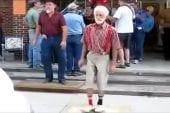 Il n'y a pas d'âge pour danser le Shufflin !