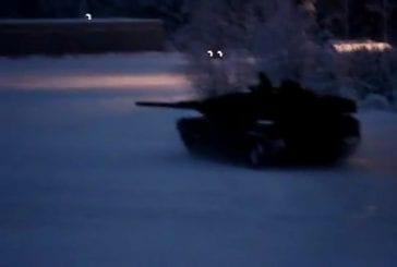 On peut même faire des drifts avec un tank !