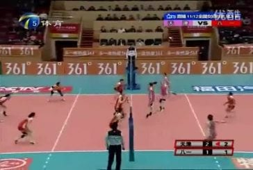 Les chinoises savent jouer au volleyball