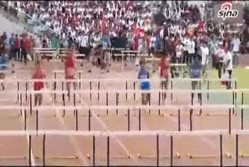 Chinois qui fait athlétisme