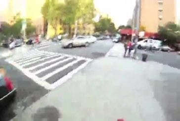 Ce motard défie la police New Yorkaise