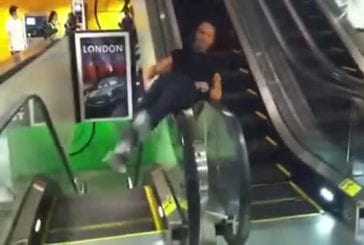 Les champions du monde des escalators !