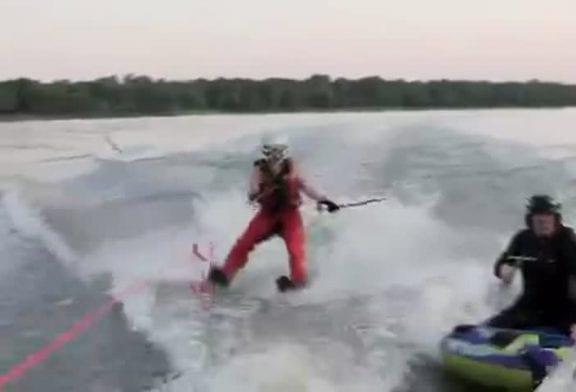 Une manière originale de pêcher !
