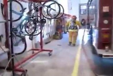 Un pompier très maladroit !