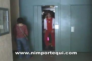 Un ascenseur disco !