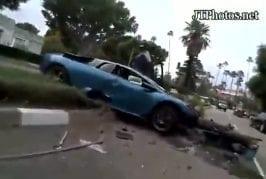 Une crash à Beverly Hils !