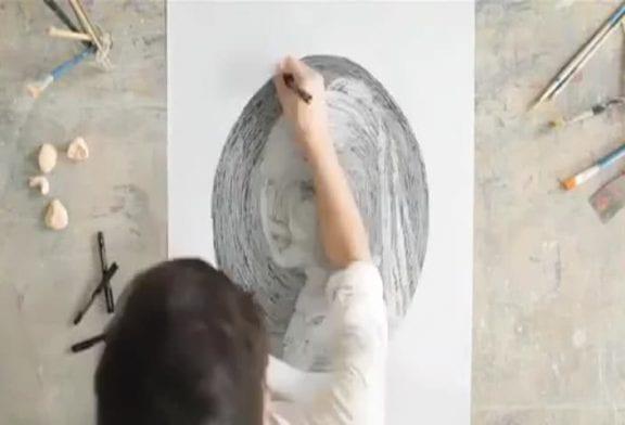 Un dessin en faisant des ronds