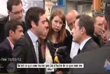 Sarkozy insulte un journaliste !