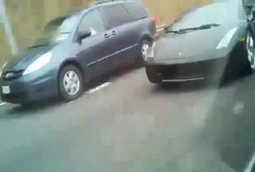 Batman en Lamborghini !