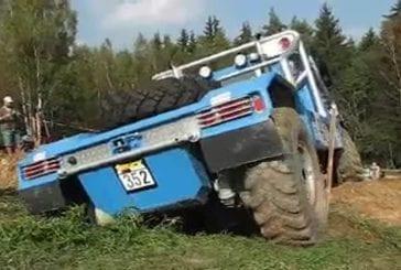 Faire du trial en camion