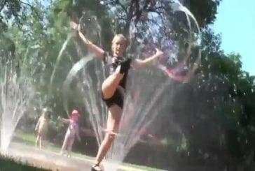 Jade Dussault la pro du Hula Hoop
