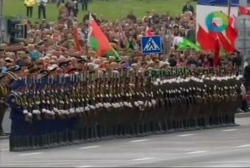 Une parade militaire en Bielorussie