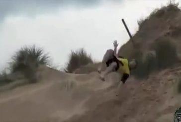 Les meilleures chute dans le sable