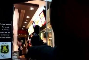 Une commande originale au McDonalds