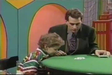 Un enfant embarrasse un magicien à la télé