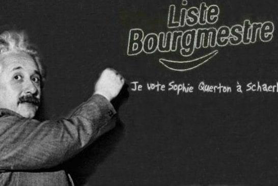 Einstein vote à Schaerbeek