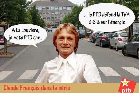 Même Claude François s'invite aux élections