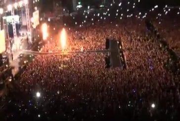 PSY fait un concert gratuit pour 80 000 personnes
