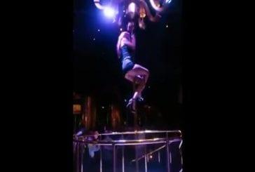 La meilleure chute au Pole Dance