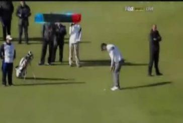 Michael Phelps réalise le plus long Putt de Golf