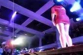 Les fesses de Katy Perry en concert