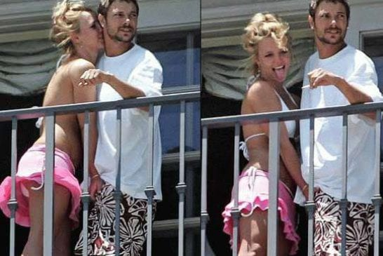 Britney Spears se lâche