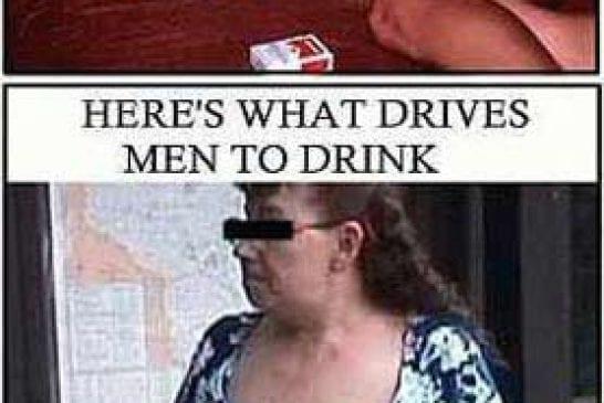 Ce qui pousse les hommes à donner à boire aux femmes vs ce qui les pousse à boire eux mêmes