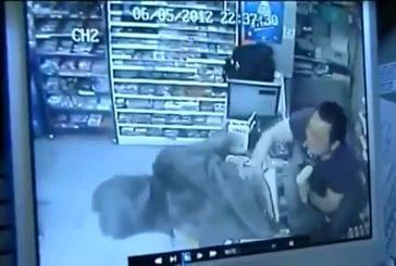Ce voleur choisit mal son magasin