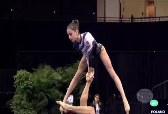 Gymnastique acrobatique incroyable