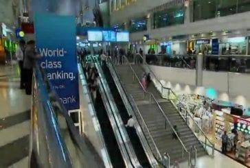Flash mob à l'aéroport de Dubaï