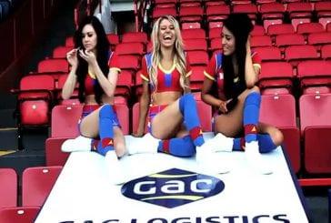 Crystal Palace Cheerleaders Do Gangnam Style Crystalsdogangn