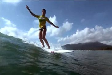 Swatch Girls Pro China 2012 Surfing Highlights