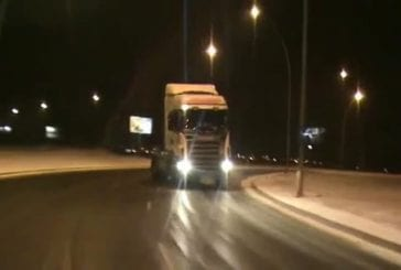 Camionglissesurneige